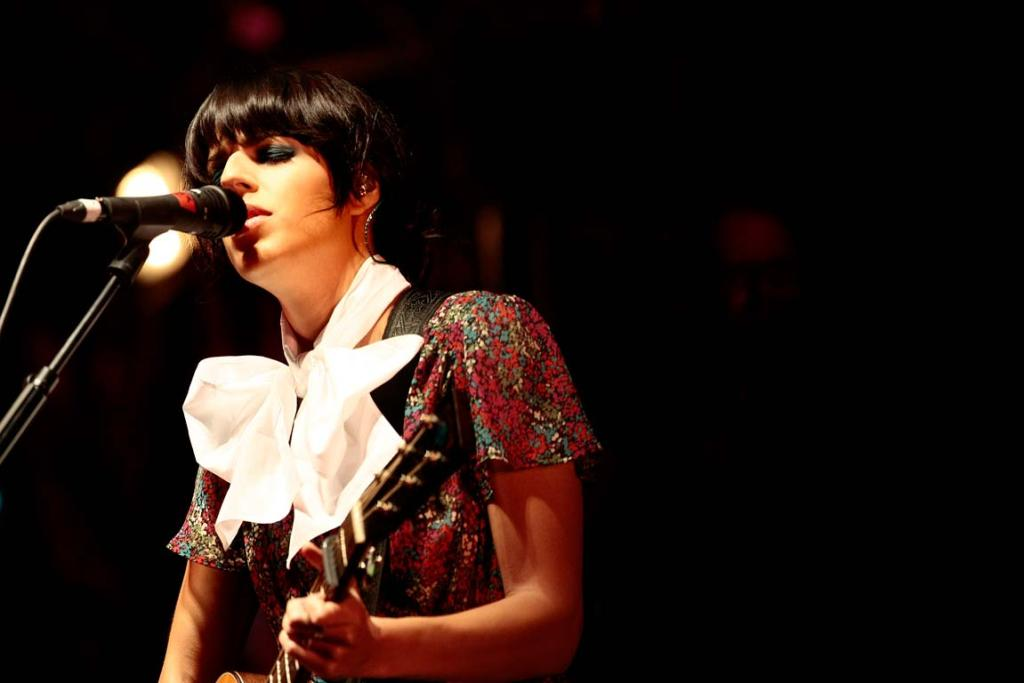 Singer-songwriter Brooke Fraser is nominated at this year's VNZMAs.