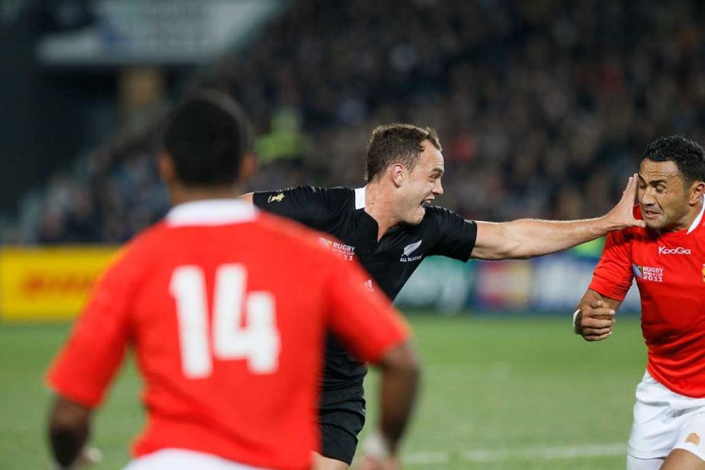 All Blacks V Tonga