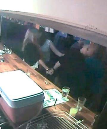 CCTV footage taken at Altitude bar