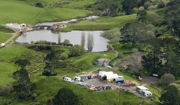 SHIRE FOR HIRE: A bunch of hobbits is due to return to Hobbiton, near Matamata, for filming of The Hobbit, but hotel and motel owners are keeping mum about the number of extras due in town.