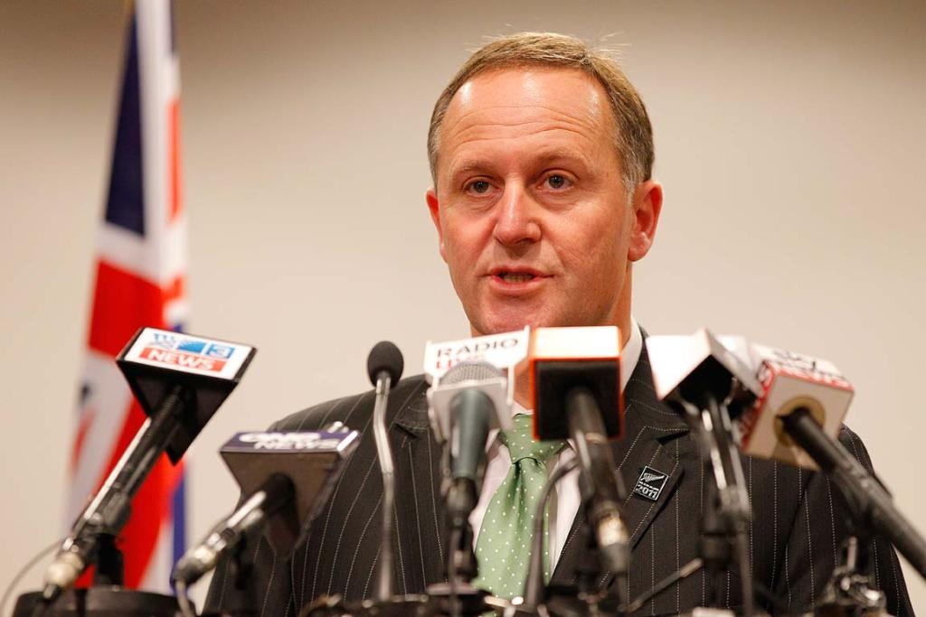Prime Minister John Key announces the death of a NZ soldier