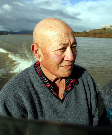 BIG LOSS: Tiki Green, a master carver, fisherman and respected Tainui kaumatua, was passionate about the Waikato River.