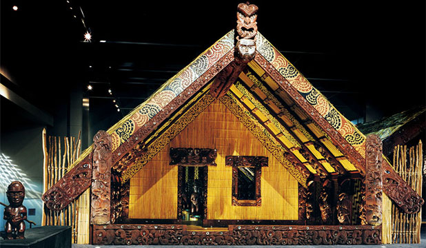MUSEUM CENTREPIECE: Te Hau ki Turanga whare, which is regarded as one of the oldest and most significant carved houses in existence.