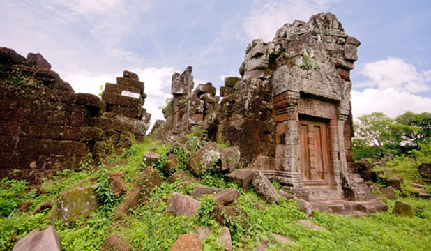 UNDER THREAT: The ruins of Vat Phou in southern Laos hold secrets that are being destroyed by development.