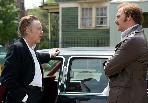 FULLY DOWNLOADED: Christopher Walken and Ray Stevenson in the film Kill the Irishman.