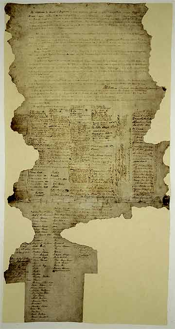 FOUNDING DOCUMENT: The Treaty of Waitangi.