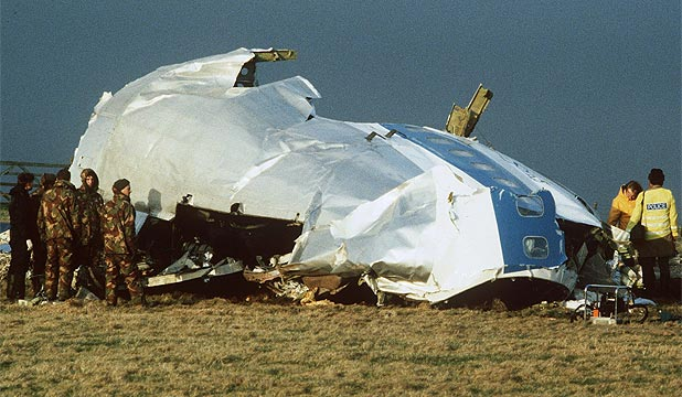 BOMBING: 270 people died when PanAm flight 103 was bombed over Lockerbie, Scotland, in 1988.