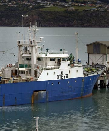 TROUBLED WATERS: The crew of the Oyang 75 fled alleging abuse and its Korean officers face charges connected to fish dumping.