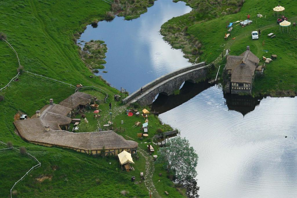 Hobbit film set