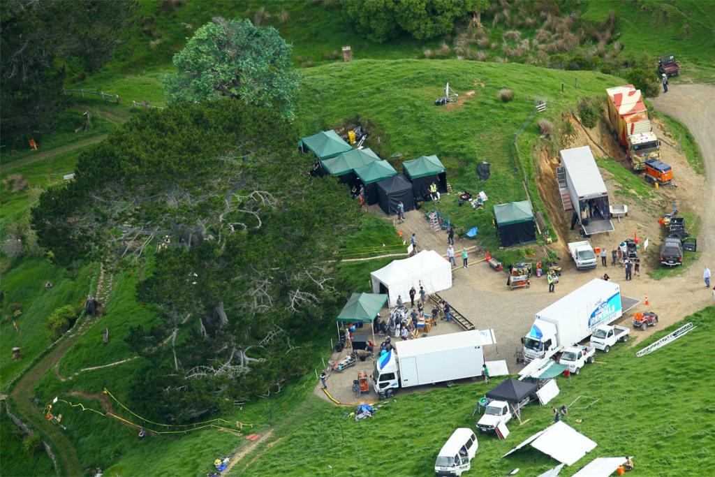 Hobbit set in Matamata