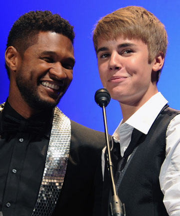"CLOSE: Justin Bieber says Usher is like his own personal ""Dr. Phil""."
