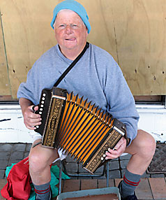 BUSKING: John Marshall is back after a year away.