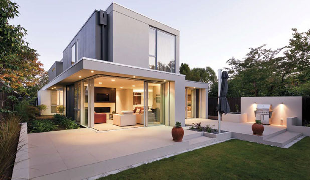 Architect honoured for home design for Award winning home designs 2012
