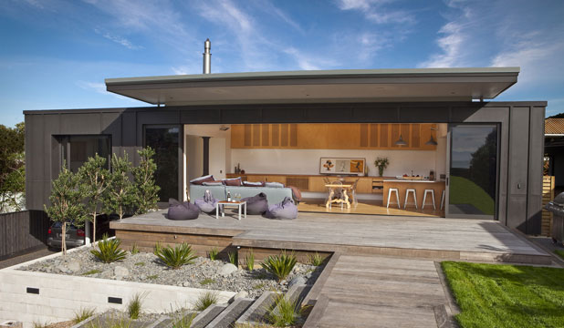 A wee beauty wins big for Coastal home designs nz