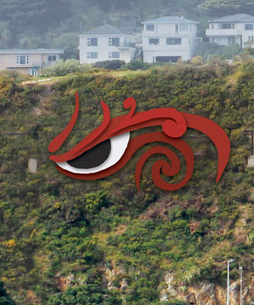 Eye of the taniwha
