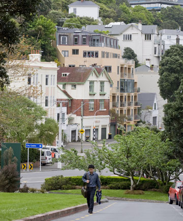 KELBURN: One of the Capital's oldest and wealthiest suburbs.