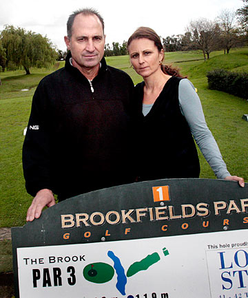 Brookfields Park Golf Club owners Don and Kim Finlayson can't believe their labour of love could shut next month.