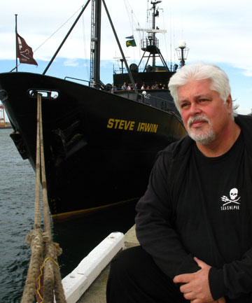 RADICAL: Eco Pirate follows Paul Watson's career trying to prevent whale slaughter.
