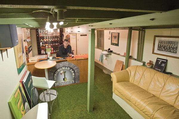 Man Cave Fort Nelson : A space to call his own stuff nz