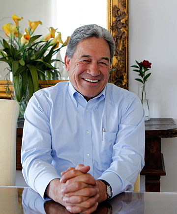 THE DAY AFTER: New Zealand First's Winston Peters reflects on his party's return to Parliament.