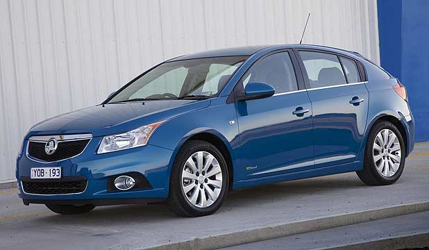 Holden Cruze Hatch Despite Fwd The New Five Door Has A Bmw