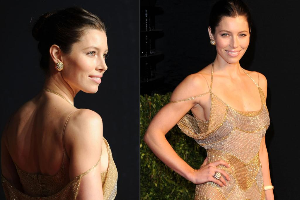 Jessica Biel's hours at the gym have clearly paid off.