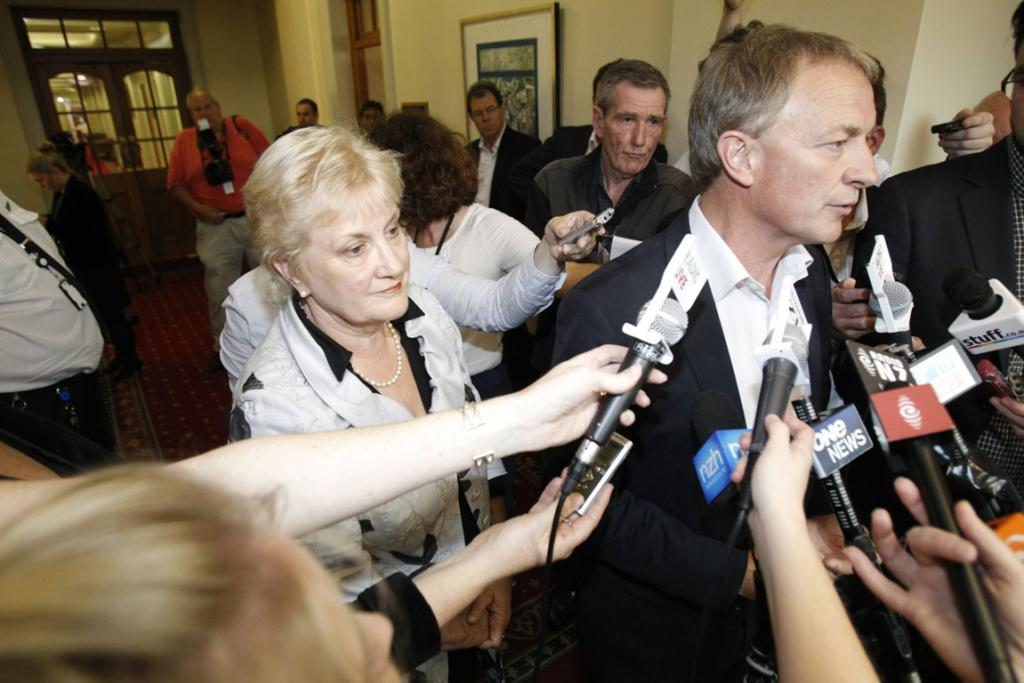 Phil Goff and Annette King announce they stepping down from the Labour party leadership.