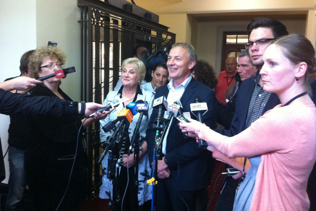 Phil Goff and Annette King will both step down on December 13.