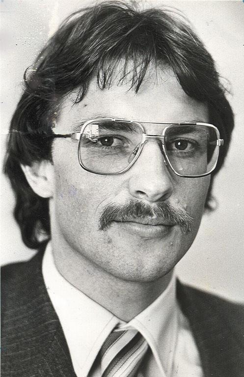 A file photo of Phil Goff from 1984.