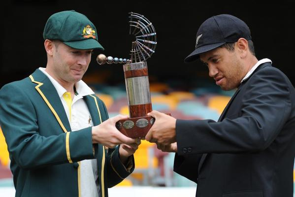 Michael Clarke and Ross Taylor