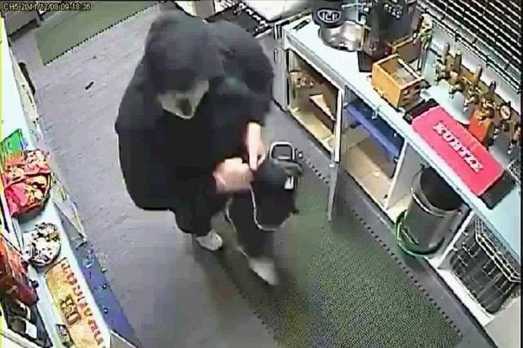 Police are appealing for information on this man who allegedly burlged the Hobsonville RSA.
