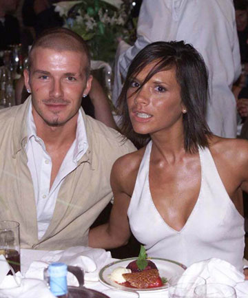 YOUNG LOVE: David and Victoria Beckham have been Britain's most high profile celebrity couple for more than a decade.