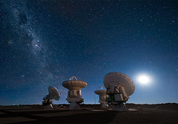Atacama Large Millimeter/submillimeter Array project