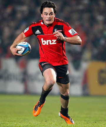 MISSING: Zac Guildford won't play the Crusaders' season-opening Super Rugby match against the Blues.