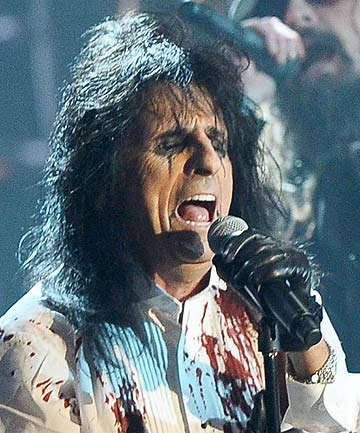 ALICE COOPER: The rockers thinks Lady Gaga could do with a bible.