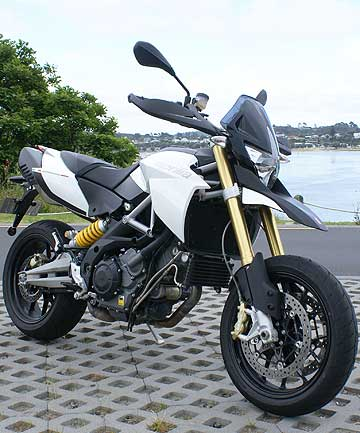 Aprilia 1200: The larger Dorsoduro is a brilliant city bike.