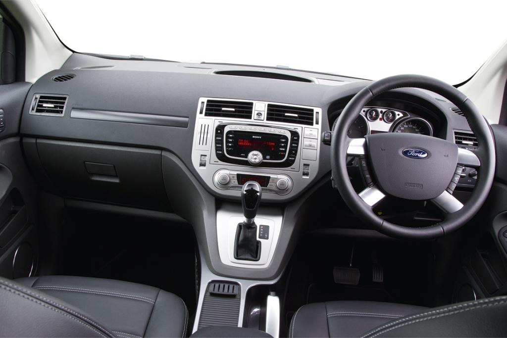 KUGA: A mix of Mondeo and Focus bits going on in the cabin, but it seems posh enough