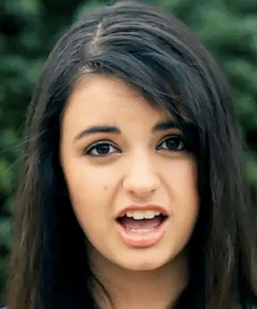WHAT DAY IS IT? Rebecca Black's 'song' was the most watched clip of 2011.