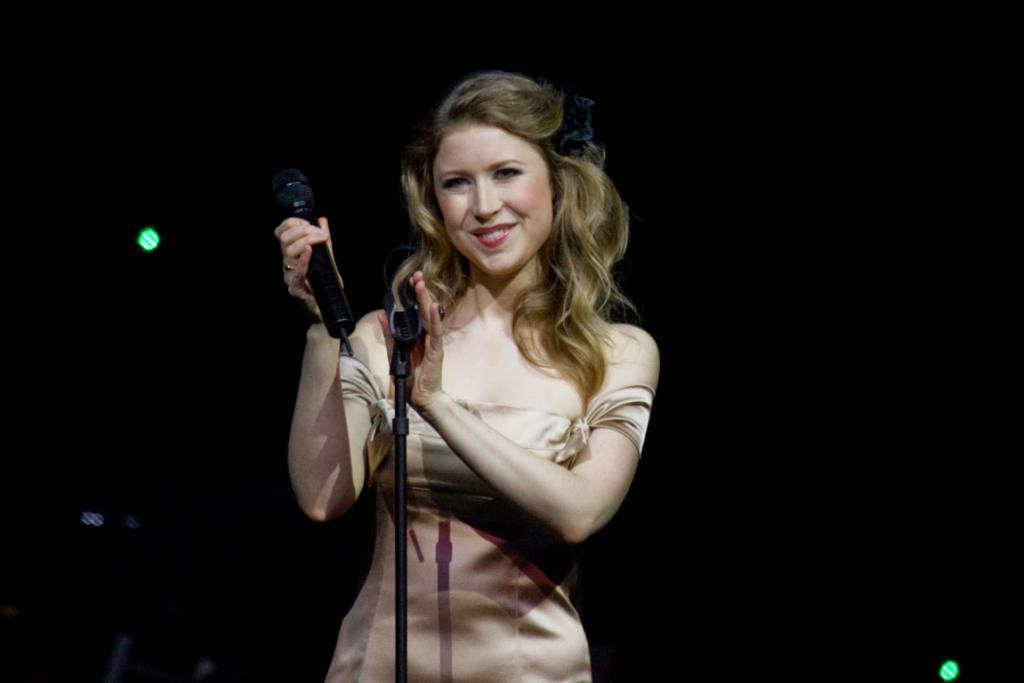 HURT SONGBIRD: Hayley Westenra had a beef with a critic.