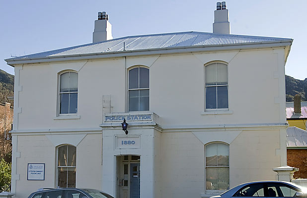 HISTORIC: The Lyttelton police station, pictured in 2009, is one of the oldest in the country.