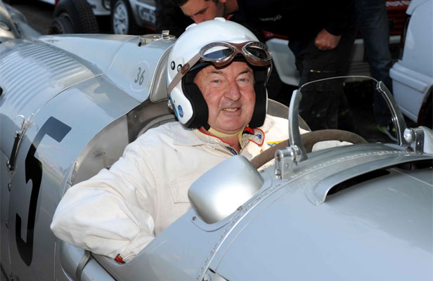 MOTOR RUNNING: Former Pink Floyd drummer and car collector Nick Mason.