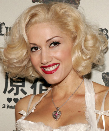 CREATURE OF HABIT: Gwen Stefani says she's been following the same makeup routine since high school.