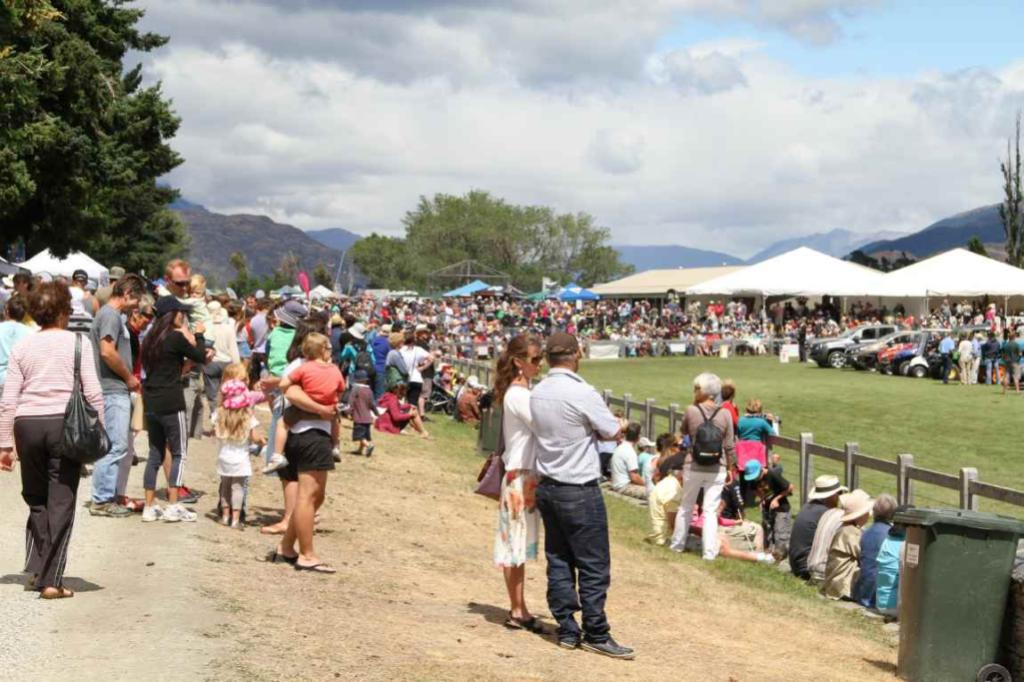 Thousands turn out at the 2012 Lake Hayes A & P Show now in its 97th year.