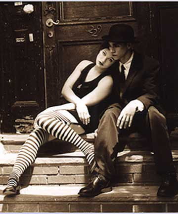 DRESDEN DOLLS: The duo from Boston comprising Amanda Palmer on piano and vocals and Brian Viglione on drums are set to play next week.