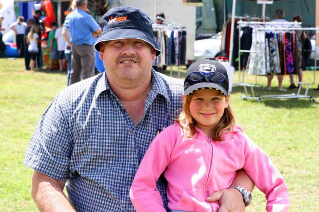 WINTON A & P SHOW: Miles and Rebekah, 8, Torrie, of Winton.