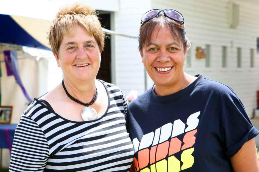 WINTON A & P SHOW: Margaret and Arianna Kane, of Winton.