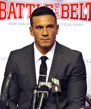 'WELL-MATCHED': Sonny Bill Williams has been seeing Jaime Ridge for about three weeks.