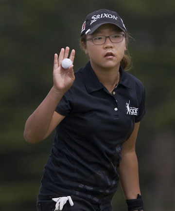 TOP PERFORMER: Lydia Ko has entered golf's history books.
