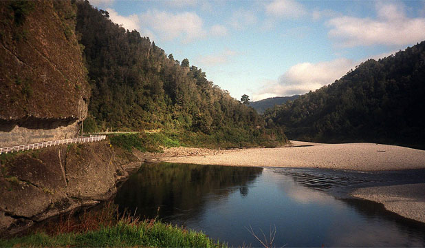 GORGEOUS: The lower Buller Gorge road from Inangahua Junction to Westport.