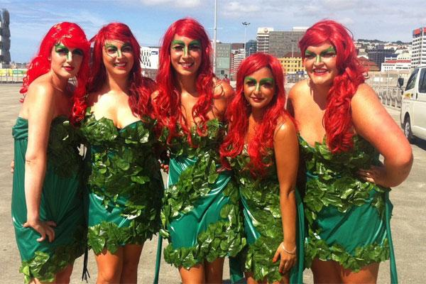 The Poison Ivy group from Wellington.